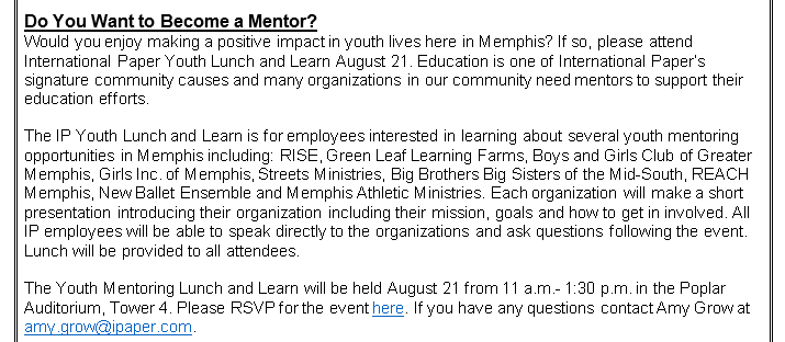 Do You Want to Become A Mentor